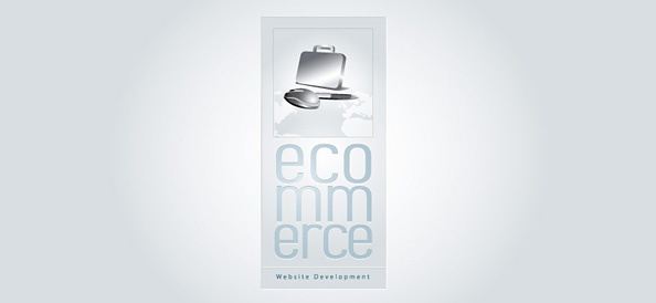 Ecommerce Vector Logo Design Template