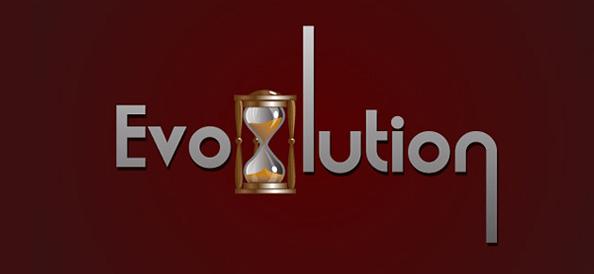 Evolution Logo Design Template - Hourglass Logo Design Template