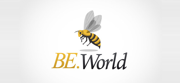 Free Bee Logo Template