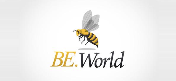 Free Bee Logo Template