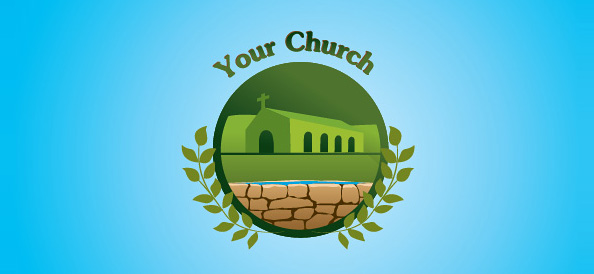 Church Free Logo Template 02