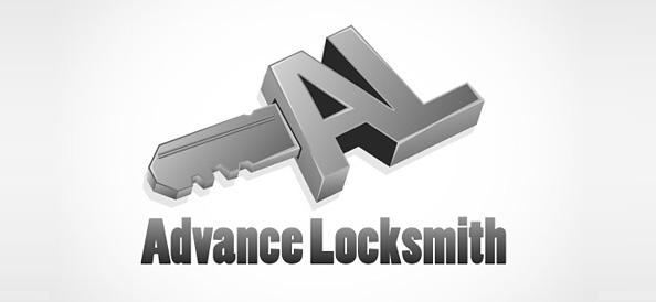 Locksmith Vector Logo Concept