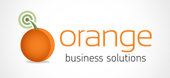 Orange Business Logo Design