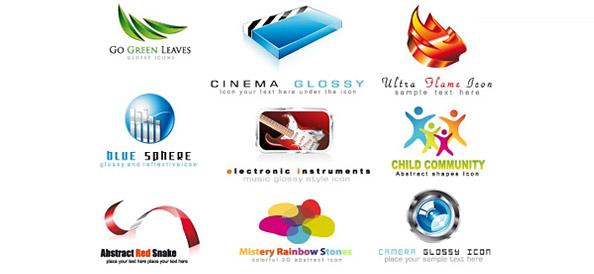 2d and 3d logo designs free logo design templates for Logo design online free 3d