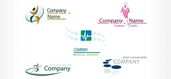 Free PSD Logo Design Templates - Free Logo Design Templates