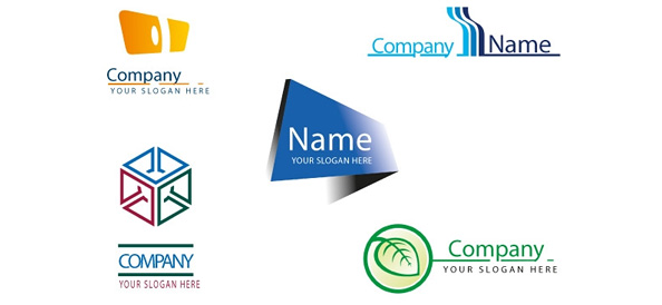 Business Logo Design Set
