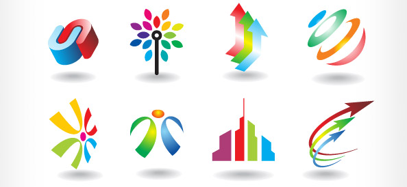 Colorful Logo Vector Templates