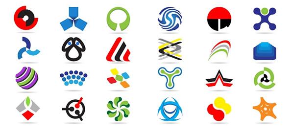Elementos de diseño de logotipo Free-Logo-Template-Set-17