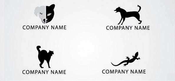 Free Animal Logo Design Template Set 02 - Free Animal Logo Design Template Set 02