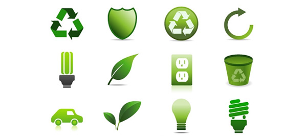 Green Logo Free Vector Design Pack