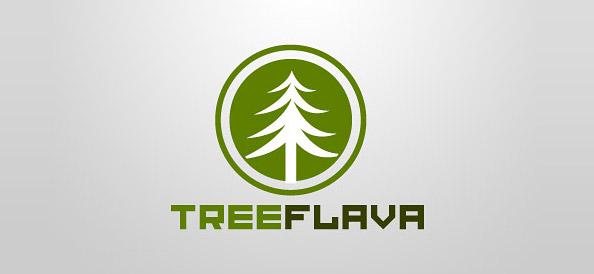 Green Tree Free Logo Design