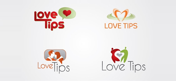 Love Logo Free Vector Design