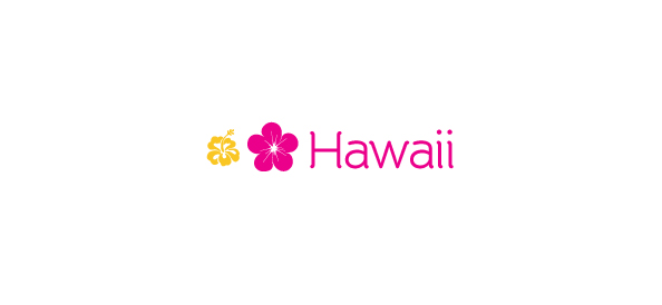 Flower Logo Template – Hawaii
