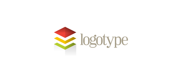 Business logo design template posted in business construction real