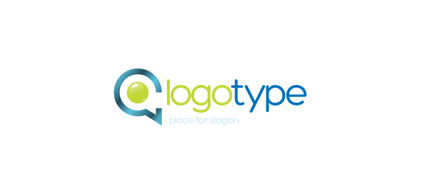 Communication Company Vector Logo Template - Free Logo ...