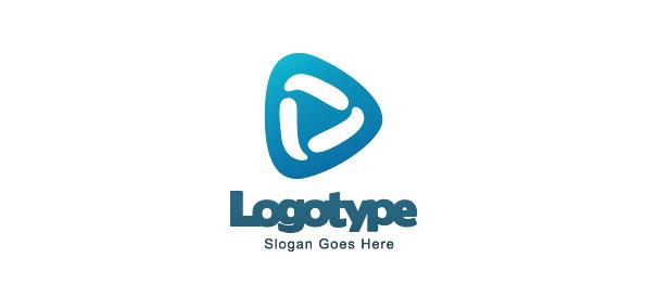 Blue Logo Design Template