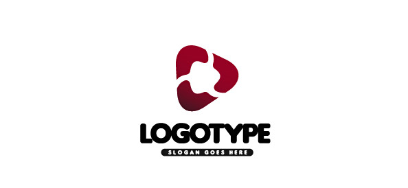 Red Logo Vector Template