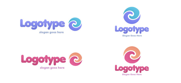 Abstract Logo Design Set