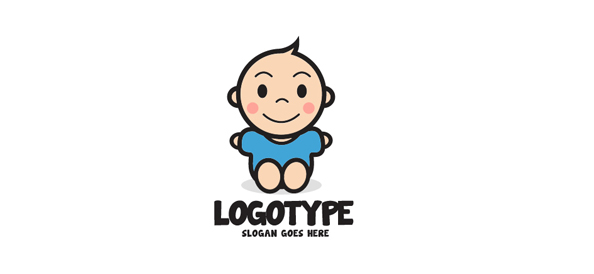 Child Logo Design Template