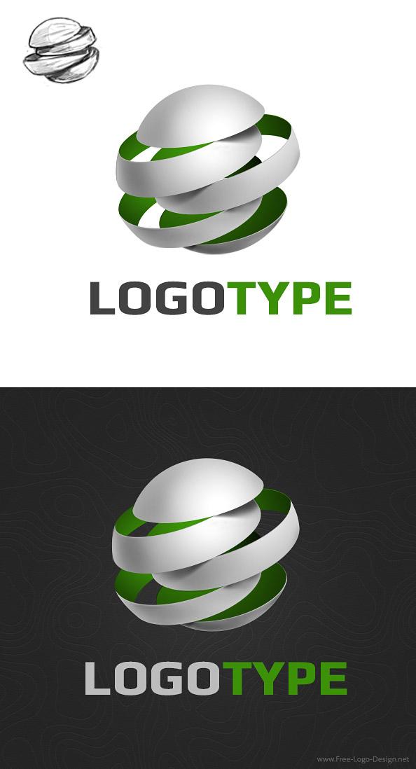Free 3D Logo Design Template - Free Logo Design Templates