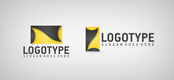 Business Shape Logo Template