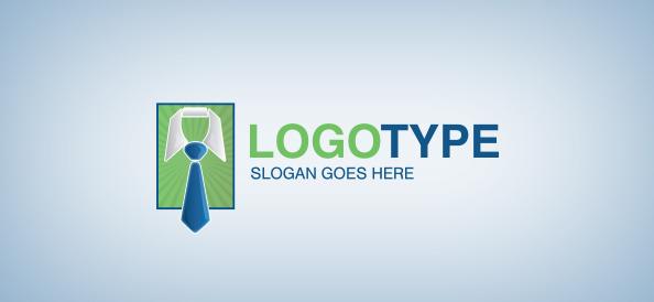 Business Tie Logo Template