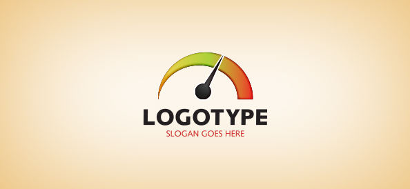 Car Gas Mileage Logo Template