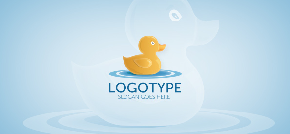 Duck Logo Template